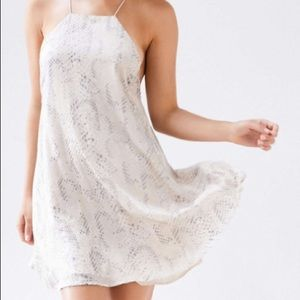 Urban outfitters snakeskin dress